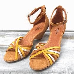 Anonymous sandales jaune Tasha