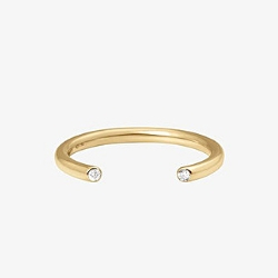Vanrycke bague Massai or jaune 18k diamants