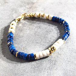 Bali Temples bracelet Bahia howlite bleu