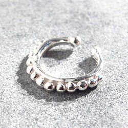 Bali Temples earcuff perlines argent 925