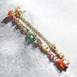 Bali Temples stud solo Beauty Queen Chain