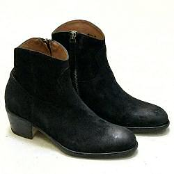 Elia Maurizi boots camarguaises 9806 daim noir
