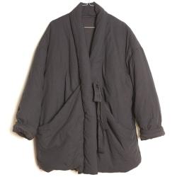 Elsa Esturgie manteau ouatiné Bulle gris