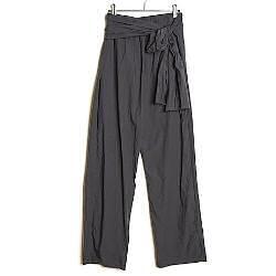 Elsa Esturgie pantalon Ami vert de gris