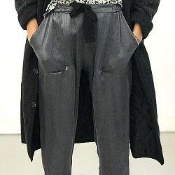 Elsa Esturgie pantalon Thomas gris/noir