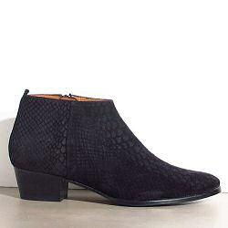 Emma Go low boots Anna snake black