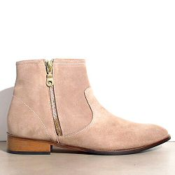 Emma Go boots daim taupe Murdoch