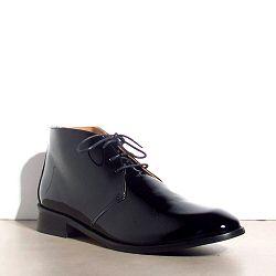 Emma Go boots lacet Parson noir vernis