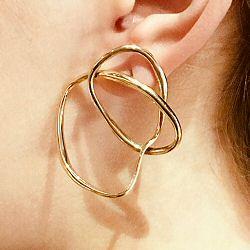 Faris boucle solo Vinea Knot bronze