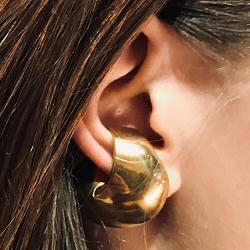 Faris earcuff solo Fortuna bronze