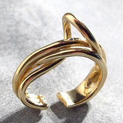 Faris earcuff solo Tangle bronze