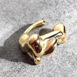 Faris earcuff Lava bronze