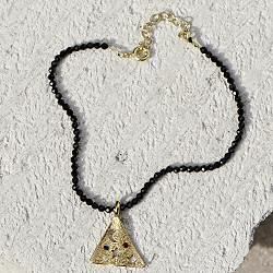Hermina bracelet Pyramid Melies black