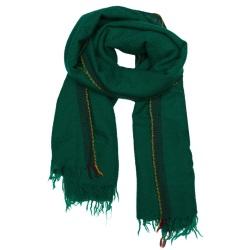 Lovat & Green foulard laine vert Divino