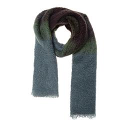 Lovat & Green foulard laine Fleecy green