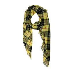 Lovat & Green foulard laine Highland yellow