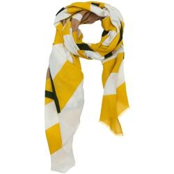 Lovat & Green foulard jaune Retro