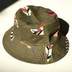 Lovat & Green chapeau bob bucket hat Feathers