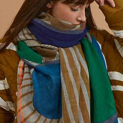 Ma Poesie foulard laine Candy souffre