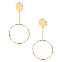 Margi Darika boucles Empire vermeil