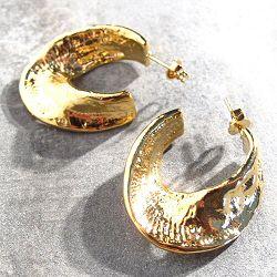 Margi Darika boucles Fossile dorées