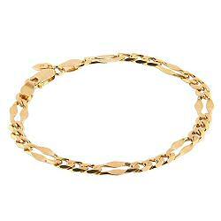 Maria Black bracelet Dean small gold / argent dore