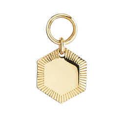 Maria Black charm Kim hexagone gold argent dore