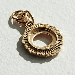 Maria Black charm Yasmeen gold argent dore
