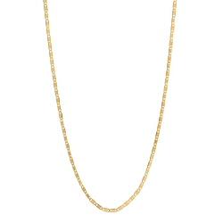 Maria Black collier Karen gold / argent dore reglable