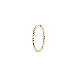 Maria Black boucle solo Liv Hoop 15mm or 14k