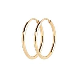 Maria Black creoles Senorita 25 (paire) gold argent dore