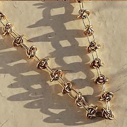 Medecine Douce collier Upsilon Necklace maxi doré