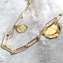 Medecine Douce sautoir for�at piece Tancrede small doré