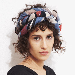 Mii foulard Matchbox rouge/bleu