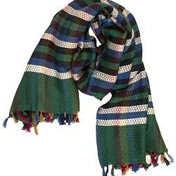 Mii foulard Carreaux vert