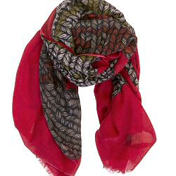 Mii foulard Gant rouge