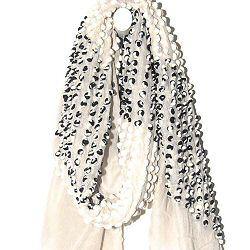 Mii foulard hiver Bubbles laine écru