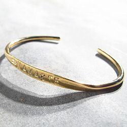 Mimilamour bracelet NAMASTE doré