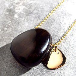 Mimilamour collier Agate noire