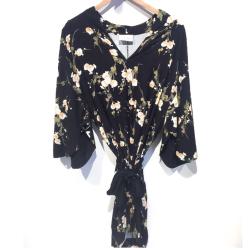 My Sunday Morning robe Jess fleurs