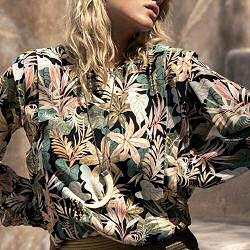 My Sunday Morning blouse rainforest Mindy