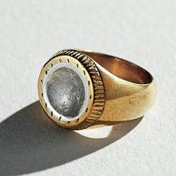 Ombre Claire bague bronze argent Tresor