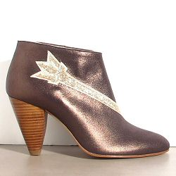 Patricia Blanchet boots Aquagirl bronze