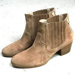 Patricia Blanchet boots Bullit daim sable