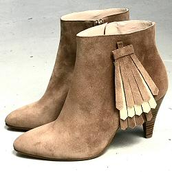 Patricia Blanchet boots Daydream daim sable