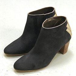 Patricia Blanchet boots Fabuleuse daim gris anthracite