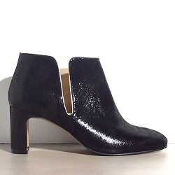 Patricia Blanchet boots Forty Four cuir shiny noir