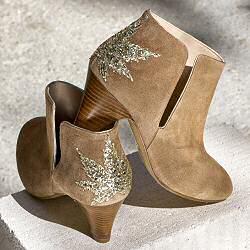 Patricia Blanchet boots Kaprisky daim sable