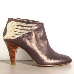 Patricia Blanchet boots Rusty bronze