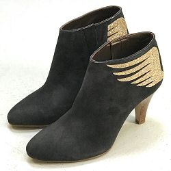 Patricia Blanchet boots Rusty daim gris anthracite